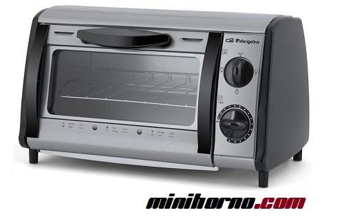 Orbegozo HO 810 A -mini horno-tostador multifuncion acero inoxidable